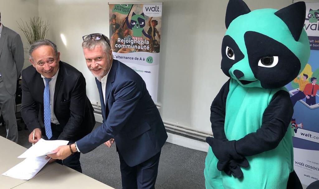 Signature partenariat Walt et Worldskills
